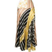Silvia Tcherassi Faustine Panelled Midi Skirt - Estampado