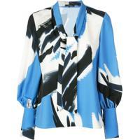 Natori Blusa Estampada - Azul