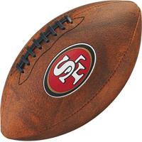 Bola De Futebol Americano Wilson Throwback Nfl Jr. San Francisco 49Ers - Unissex