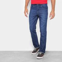 Calça Jeans Slim Biotipo Com Bigode Masculina - Masculino