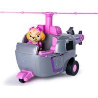 Carrinho Com Som Patulha Canina Skye'S Deluxe Helicopter