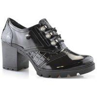 Sapato Feminino Casual Conforto Oxford Verniz Dakota G2621 Dakota Preto
