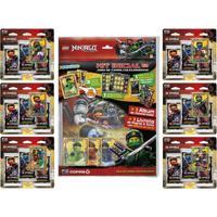 Kit De Álbum E 96 Cartas - Lego Ninjago - Masters Of Spinjitzu - Copag