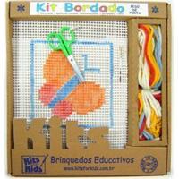 Kit P/ Bordar Peso De Porta Kits For Kids Borboleta Multicolorido