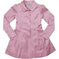 Trench Coat Floral - Rosa Clarolilica Ripilica