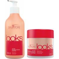 Kit Pós Alisamento Looks Shampoo Salvatore 300Ml + Máscara 250Ml