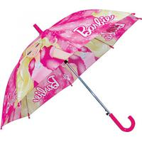 Guarda Chuva Barbie Decorando Com Classe Rosa