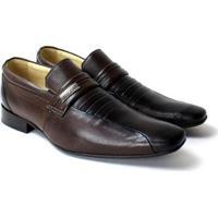 Sapato Social Confort Zanuetto Masculino - Masculino-Preto