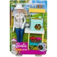 Boneca Barbie Quero Ser Cuidadora De Abelhas Mattel Dhb63