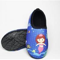 Sapato Neoprene Fit Sereia Ufrog Feminino - Feminino-Azul