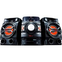 Mini System Lg Usb Mp3 Bluetooth 220W Rms Cm4350 Preto