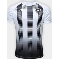 Camisa Kappa Botafogo Torcedor Masculina - Masculino-Branco