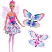 Boneca Barbie Dreamtopia - Fada Asas Voadoras Ref: Frb08