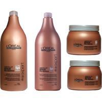 d813cc5e1 Kit Shampoo Condicionador E Máscaras L'Oréal Absolut Repair Pós Química