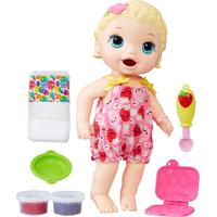 Boneca Baby Alive - Loira - Lanchinho - C2697 - Hasbro - Feminino-Incolor