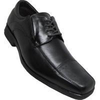 Sapato Social Talk Flex New Confort Soft Masculino - Masculino-Preto