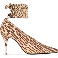 Zimmermann Scarpin Animal Print - Marrom