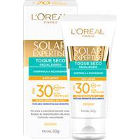 Protetor Facial L'Oreal Paris Solar Expertise Toque Seco Antiacne Fps 30 50G - Unissex-Incolor