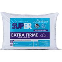 Travesseiro Altenburg Super Extra Firme 100% Algodão - Branco Branco