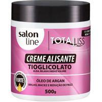 Creme Alisante Salon Line Óleo Argan Forte 500G
