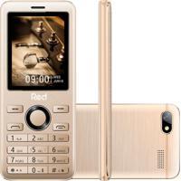 Celular Red Mobile Prime M012F Dual Desbloqueado Dourado