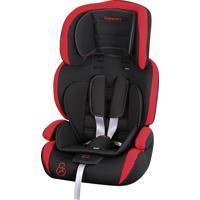 Cadeira Para Auto De 9 A 36Kg Jig Preto/Vermelho - Galzerano