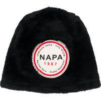 Napa By Martine Rose Chapéu Com Patch De Logo - Preto