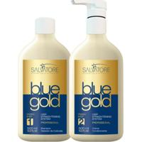 Escova Progressiva Blue Gold Salvatore 2X500Ml
