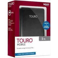Hd Externo Hgst Touro 500Gb Usb 3.0 + Cloud Storage Black Os03799