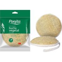 Esponja De Banho Ponjita 3M Bucha Vegetal