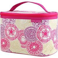 Necessaire Frasqueira Tam. G Jacki Design My Lolla Pink