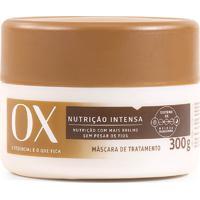 Máscara De Tratamento Ox Nutrição Intensa 300G