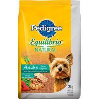Ração Para Cães Pedigree Equilíbrio Natural Adultos Raças Pequenas 3Kg