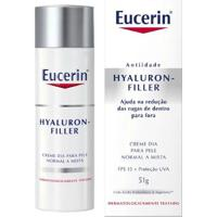 Creme Anti-Idade Facial Eucerin Hyaluron-Filler Dia Fps 15 51G - Unissex-Incolor