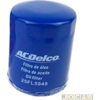 Filtro De Óleo - Acdelco - Uno/Fiorino/Palio/Doblo - Motor Fire - Cada (Unidade) - 25Fl5949