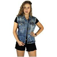 Colete Jeans Clothify Denim Azul