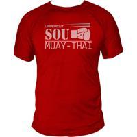 Camiseta Uppercut Muay Thai Dry Fit Vermelha