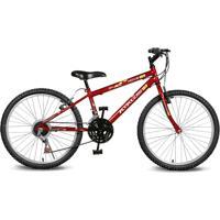 Bicicleta Kyklos Bikes Aro 24 Move 21V Vermelho