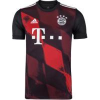 Camisa Bayern De Munique Iii 20/21 Adidas - Masculina - Preto