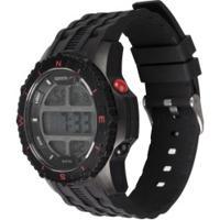 Relógio Digital Speedo 81135G0 Com Fone De Ouvido - Masculino - Preto