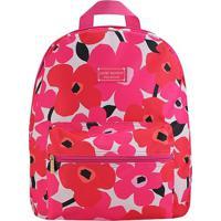 Mochila Estampara- Pink & Branca- 38X29,5X12,5Cmjacki Design