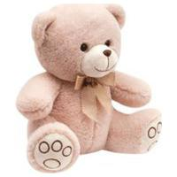 Ursinho Carinho Buba Baby Creme Branco