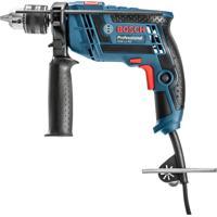 Furadeira De Impacto Bosch 12 Com Maleta E 5 Brocas Azul 650W 110V Gsb13