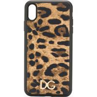 Dolce & Gabbana Capa Para Iphone Xs Max - Marrom