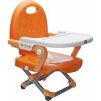 Cadeira De Alimentação Portátil Chicco - Unissex-Laranja