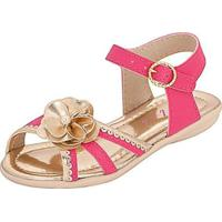 Sandália Infantil Plis Calçados Ternura Feminina - Feminino-Pink