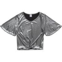 Blusa Lecimar Em Malha Lumi Alto Verão Prata