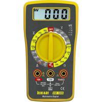 Multímetro Digital Hikari Hm-1000 Amarelo