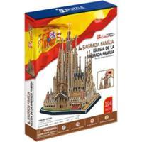 Puzzle 3D Sagrada Família 194 Peças - Brinquedos Chocolate - Kanui