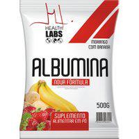 Albumina Health Labs Sabor Morango Com Banana 500G